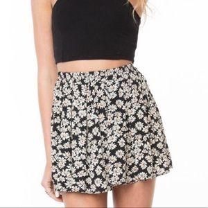 Brandi Melville Ditsy Floral Skater Skirt - EUC